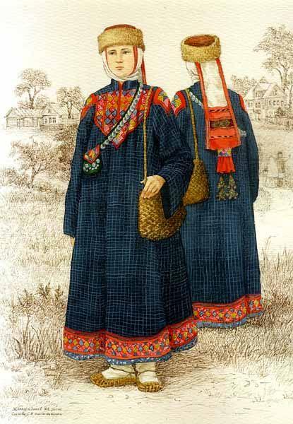 Куклы в народных костюмах №31 Кукла в татарском свадебном костюме