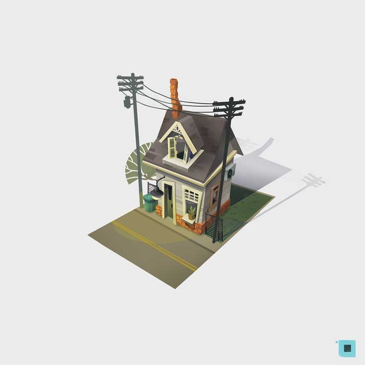 town on Behance