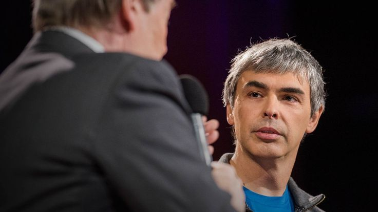 #LarryPage CEO of #google talks with #CharlieRose about privacy, technology and future