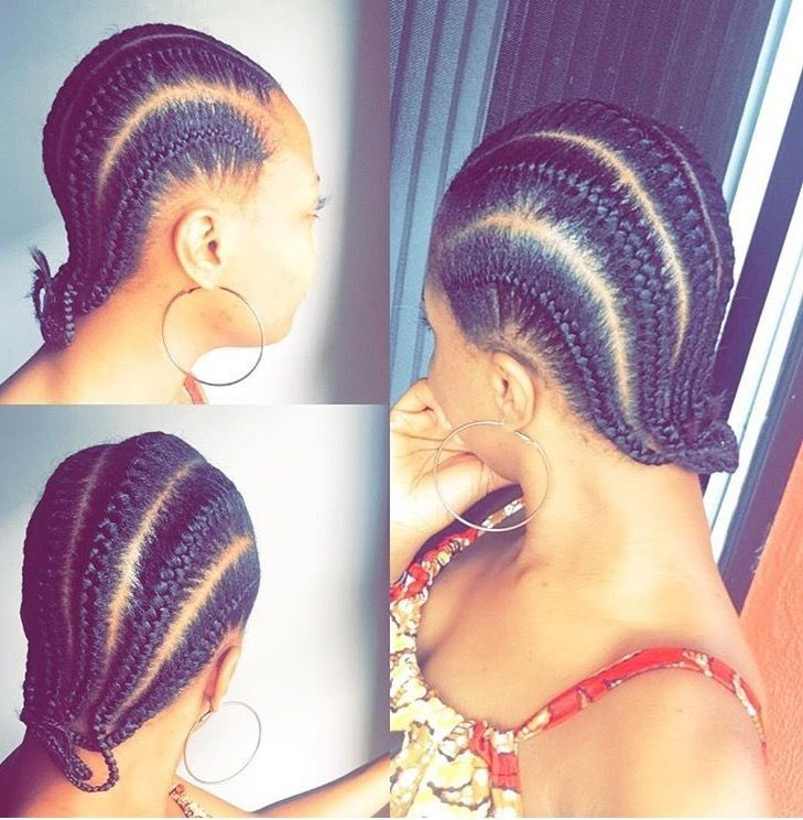 How I Grew My Edges Front Hair Back In 3 Months In 2021 African Hair Braiding Styles Plaits Hairstyles African Braids Styles