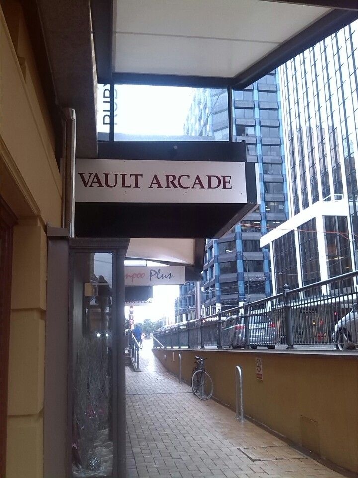 Vault Arcade in Wellington, Wellington