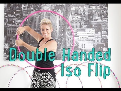 This looks easy, which means it's probably impossibly hard.... so of course i have to learn it. Double Handed Iso Flip - Hoop Tutorial