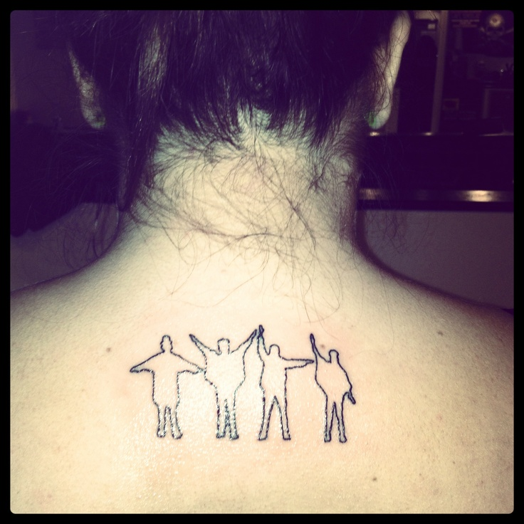 Help beatles tattoo. Probably wouldn't get but I like.