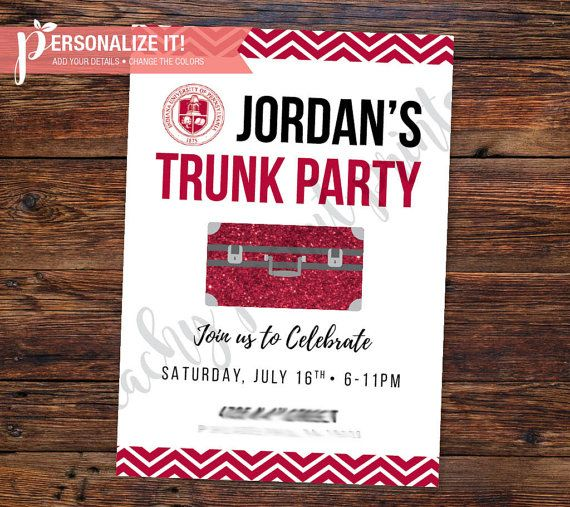 best 25+ trunk party ideas college ideas on pinterest | trunk, Party invitations