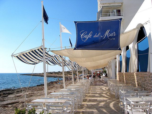 cafe del mar ibiza - spain by chillntravel, via Flickr
