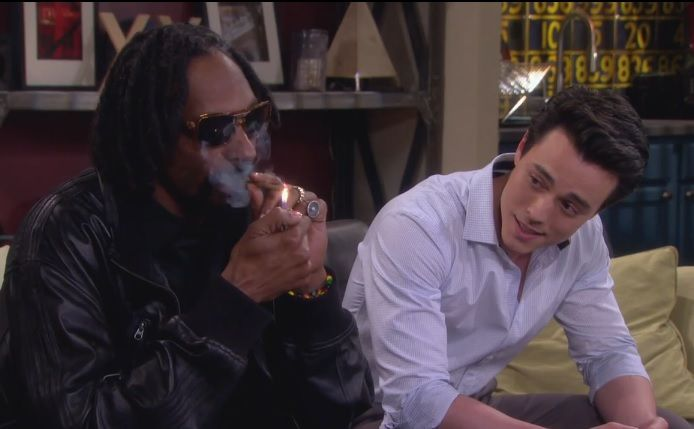 Snoop Lion Smokes Weed 'One Life to Live' [VIDEO]: 'Reincarnated' Rapper Stars As Himself And Shares Words Of Wisdom On Online Soap http://Teagardins.com UPDATE: Now ANYONE can call our Drug and Drama Helpline Free at 310-855-9168 #Bong#Pipe#Waterpipe#Stone#Pot #Weed#Glasspipe#bud#ganja#reefer#Chro#kush#hydro#skunk#dope#grass#haze#smoke #herb#trees#cannibis#ifweedwerelegal#legalizeit#weed#pot#hem#marijuana#stonerfamily #0Deaths#toohigh#legaliz#MMOT #mmj#norml#maryjane #Teagardins #SmokeShop