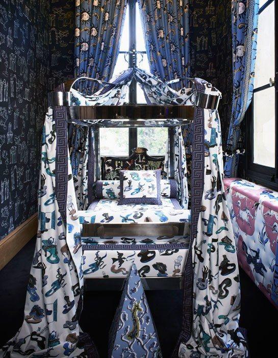 Vincent Darré Creates Surrealist-Inspired Fabrics for Pierre Frey