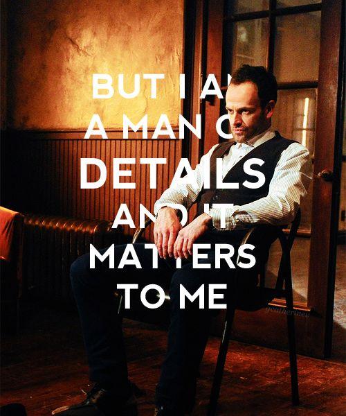 Details Matter! » Sherlock Holmes (Elementary) » adamlvine.tumblr.com