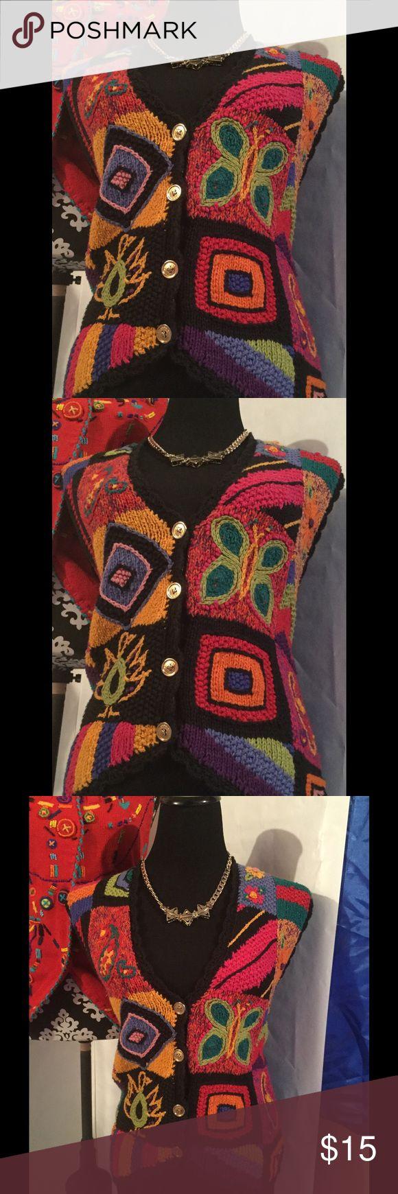 Floral vest Button vest ....floral flow Other