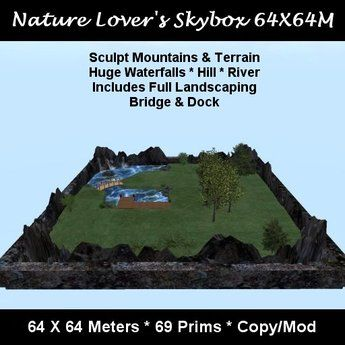 Nature Lover's Skybox 64X64M