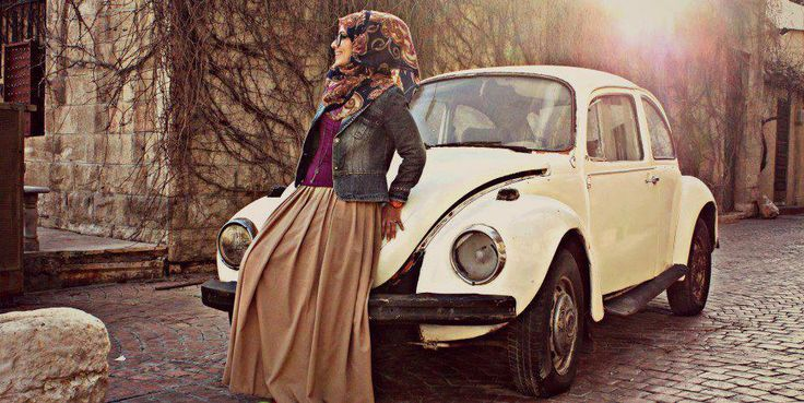 street casual hijab