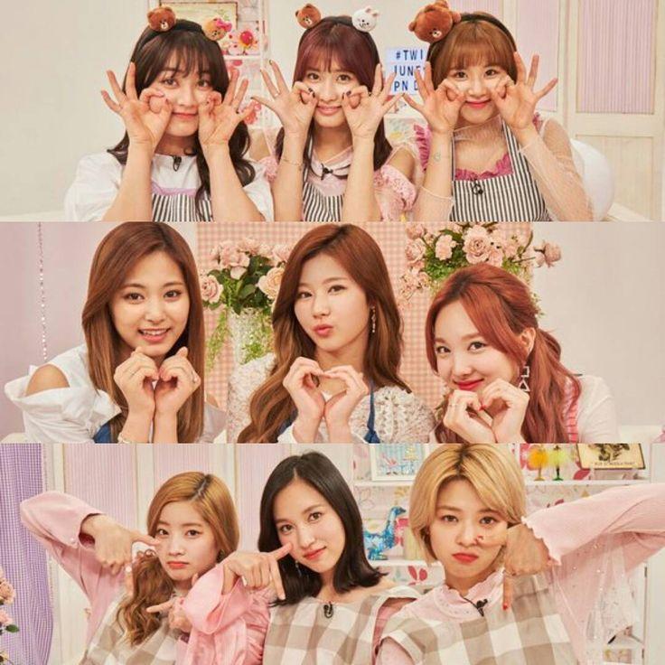 Tzuyu, Chaeyoung, Dahyun, Mina