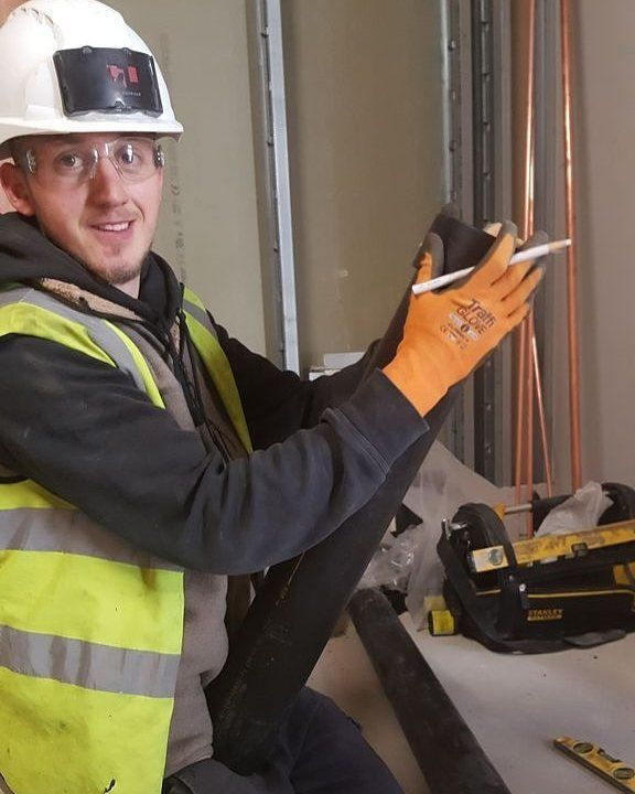 One of our plumbers working hard on site! Our team simply love what they do for a living find out more about the exciting career of commercial plumbing by clicking the link in our bio! . . . . #plumber #work #construction #gas #hvac #electrical #pipe #plumbers #builder #pipes #projects #plumbinglife #plumbingandheating #piping #commercial #welding #contractor #mechanical #london #uk #ontap