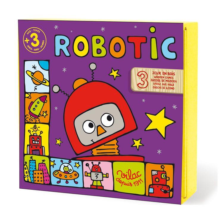 Robotic, un jeu de parcours pour animer une après-midi rigolade avec les zouzous de l'espace !