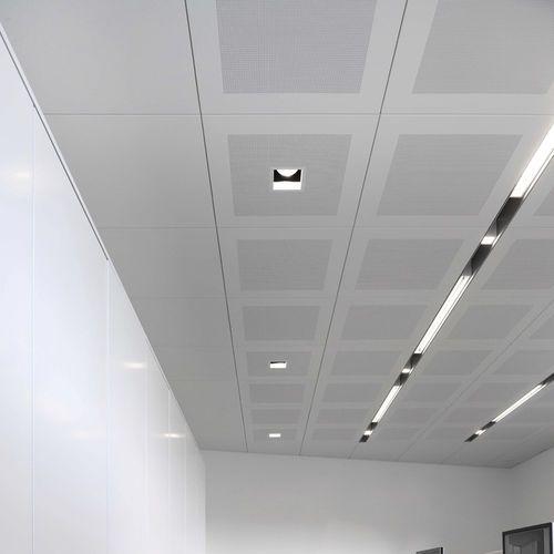 Luminaire encastrable au plafond / fluorescent / linéaire / en aluminium PROLOGE…