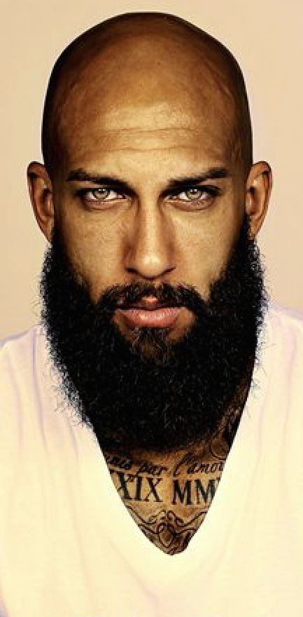 Those eyes, that bald head, THAT BEARD