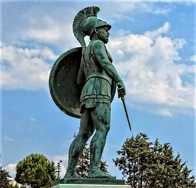 Themistocles, visionary responsible for the expansion of Athenian fleet & tactician responsible for victory at Salamis (Sept480BC)