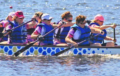 Here is the incredible reason why so many breast cancer survivors are joining dragon boat racing.