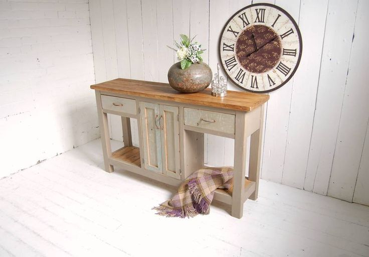 open ended console by eastburn country furniture | notonthehighstreet.com