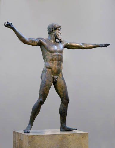 Zeus Of Artemision Also Called Poseidon Hellenisztikus