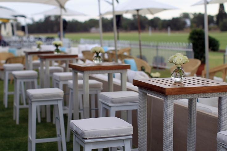 The VIP Marquee at the Polo in the Valley 2011