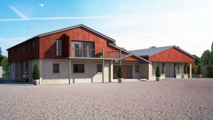 3D visualisation of a house project, UK