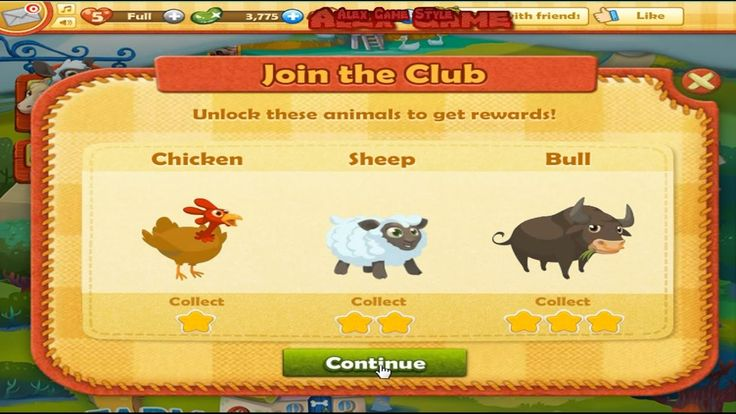 Farm Heroes Saga Level 7 Only 3 StarS (Уровень 7)