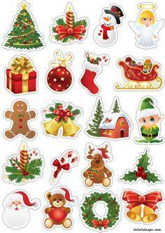 Décorations de Noël à découper - Lulu la taupe, jeux gratuits pour enfants