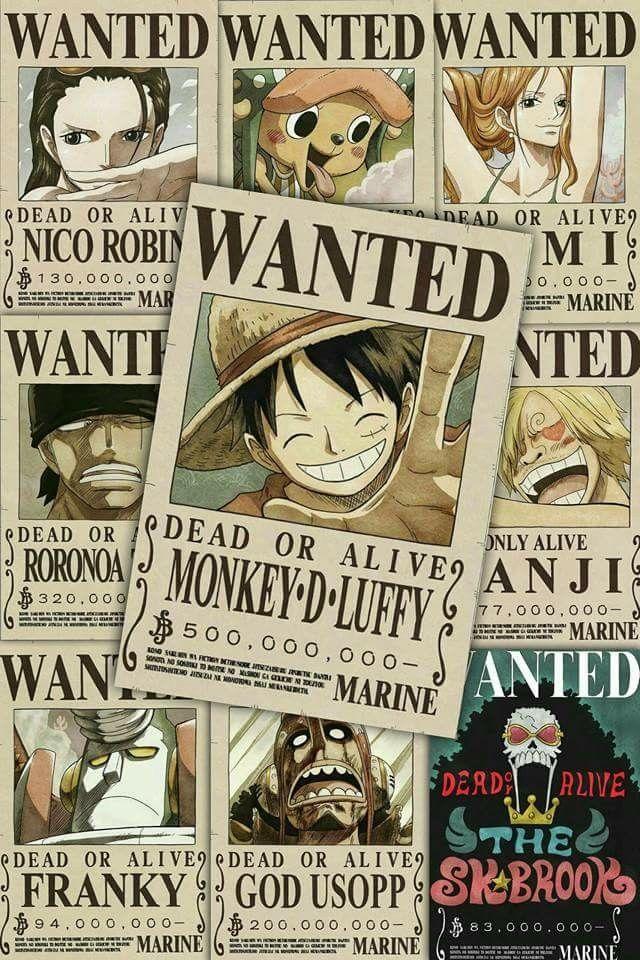 Mugiwara New World WANTED Posters