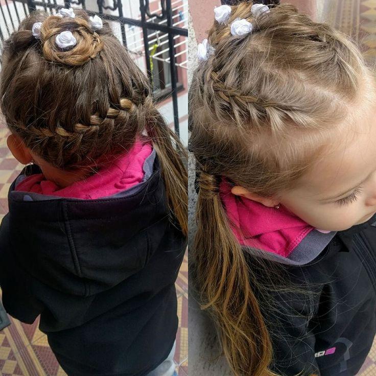 Little girls wedding hairtsyle