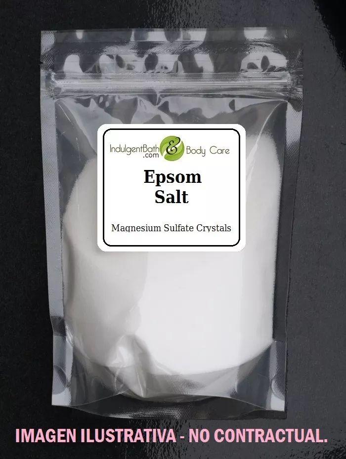 Baño De Tina En Enfermeria:sulfato de magnesio-sal de epsom-sales de baño bolsa x 1 kg