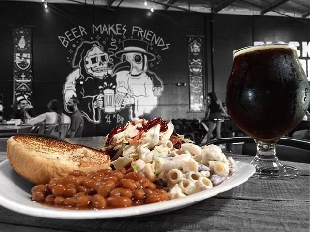 @just_alittle_smoke serving up #aplagueofflavor ALL DAY today! Come pair a smoothed pulled pork sandwich with a tulip of our FREEDOM! Strong Scotch Ale. A slightly sweet 7.9% abv. Echophonics on stage @ 4pm. ⚰️ . . . . . . . . #echophonics #sandiegobeer #oceansidebeer #blackplaguebrewing #craftbeer #craftbrewery #sdbeer #sdfoodie #vistabeer #oceansidebeer #sandiego #sandiegoconnection #sdlocals #sandiegolocals - posted by Black Plague Brewing  https://www.instagram.com/blackplaguebrewing…