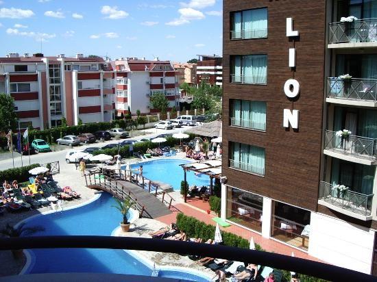 БОЛГАРИЯ! Жаркие цены жаркого лета!  15.08 на 7 ночей, СОЛНЕЧНЫЙ БЕРЕГ, отель LION 4*, Завтрак+Ужин, номер double room promo - 618€ на двоих с авиа! (044) 5999779