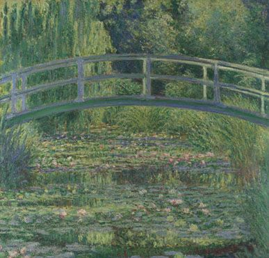 Claude-Oscar Monet: 'The Water-Lily Pond' © The National Gallery, London