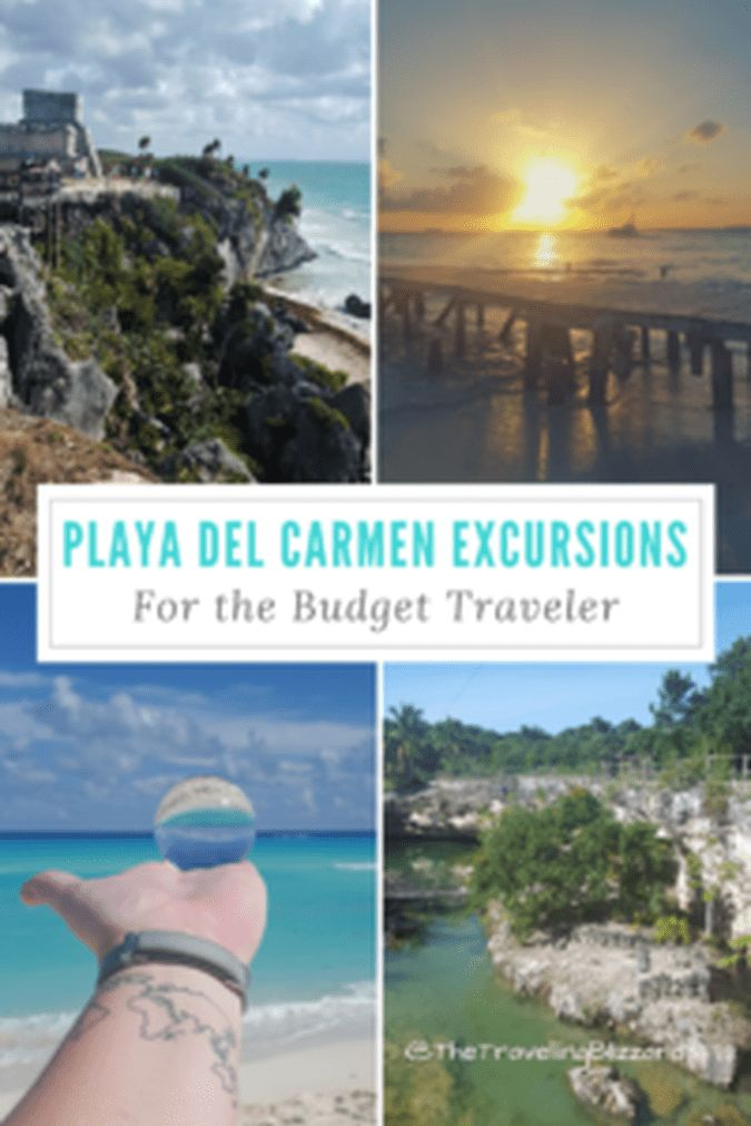 8 Cancun & Playa del Carmen Excursions for Low Budget Travelers - The Travelling Blizzards