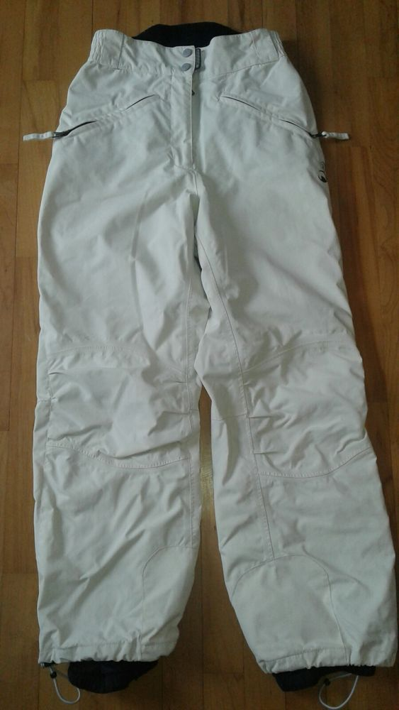 ROSSIGNOL IVORY SKI SNOWBOARD INSULATED PANTS WOMENS Size Small 6-8 | eBay