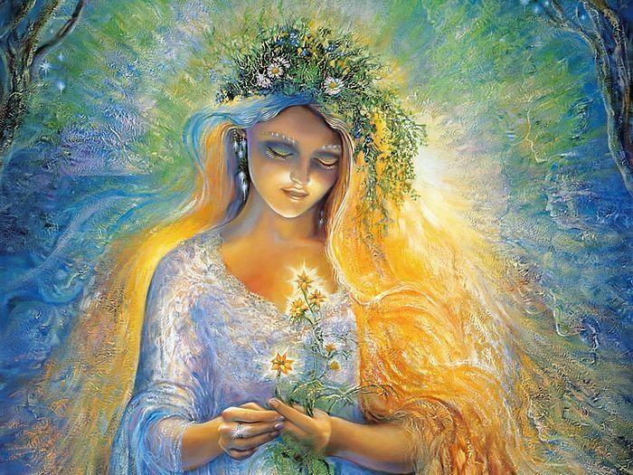 А девушки на картинах Джозефины Уолл мне кажутся воплощением естественности и красоты, к которой хочу стремиться.