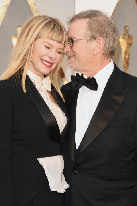 Steven Spielberg and Kate Capshaw at event of The Oscars (2016)