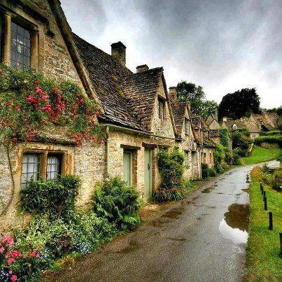 Cotswald England...I would live here and pretend to be a hobbit.