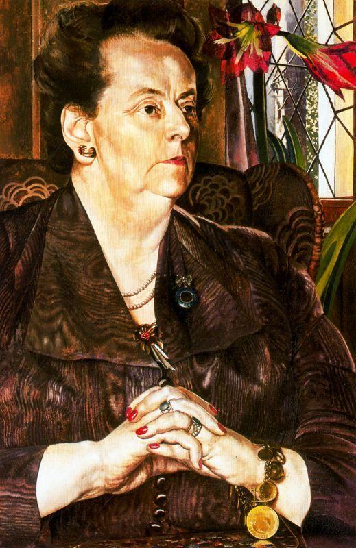 Mrs Frank by Stanley Spencer