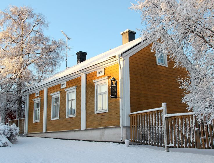 Architecture students' guild house, Oulu, Finland
