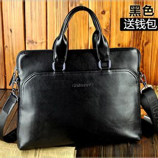 Commercial handbag briefcase new fashion male's messenger good quality new design shoulder bag casual bag as066-inBriefcases from Luggage & Bags on Aliexpress.com $55