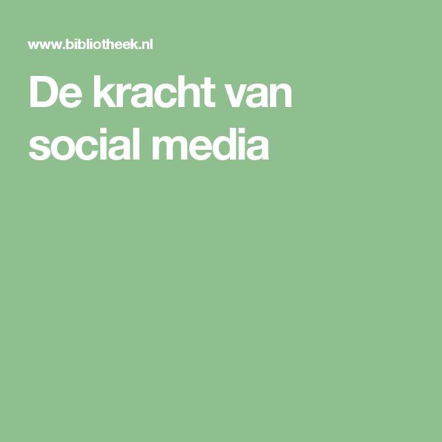 De kracht van social media uitgelegd. #socialmedia