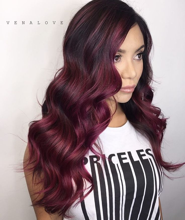 Awesome 1000 Ideas About Maroon Hair On Pinterest Dark Maroon Hair Short Hairstyles For Black Women Fulllsitofus