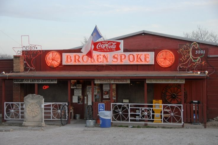 """Broken Spoke Nightlife in Austin:  Read reviews written by 10Best experts and explore user ratings. Critics have called this club the """"best honky-tonk in Texas."""" Part of its appeal is that the country music dance hall's stage just barely rises off the dance floor, so patrons can get an intimate look at their favorite stars performing. The place also offers a full menu of authentic Texas cuisine. Willie Nelson and other famous country singers make appearances, and the joint has a long…"""