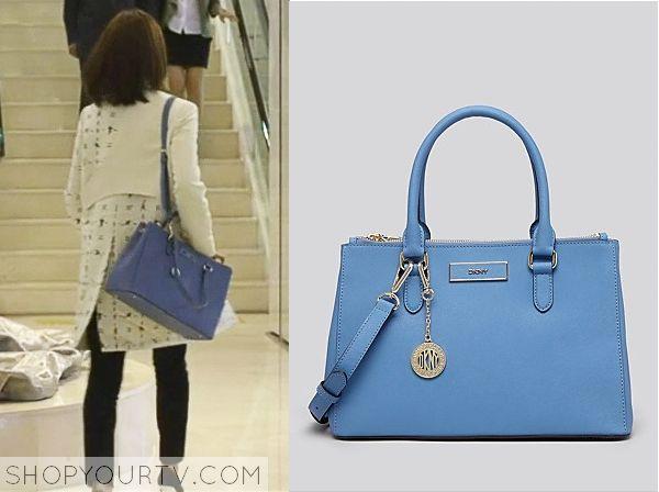 Golden Cross: Episode 10 Seo Yi Re's Light Blue Bag - ShopYourTv