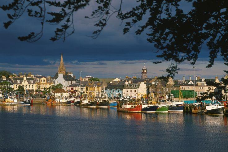Port de Stornoway - Ile Lewis