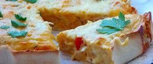 Quesadilla - mexický koláč s kuřecím masíčko