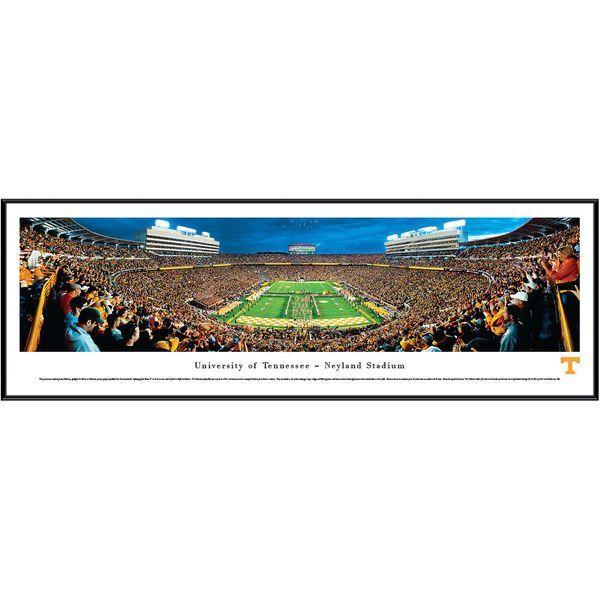 "Tennessee Volunteers 13"" x 40"" Neyland Stadium Night Standard Frame Panorama - $99.99"