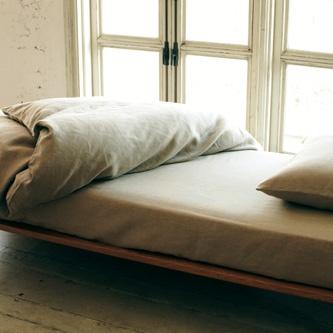 linen bedding from MUJI
